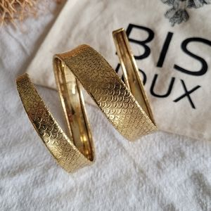 Swirl arm band armlet upper arm brass bracelet …